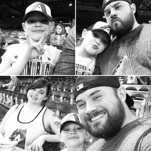Josh attended Arizona Diamondbacks vs. Washington Nationals - MLB on Jul 21st 2017 via VetTix