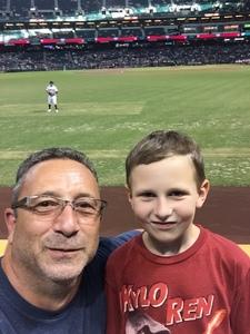 Louis attended Arizona Diamondbacks vs. Washington Nationals - MLB on Jul 21st 2017 via VetTix