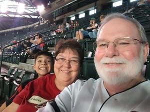 Kelly attended Arizona Diamondbacks vs. Atlanta Braves - MLB on Jul 24th 2017 via VetTix