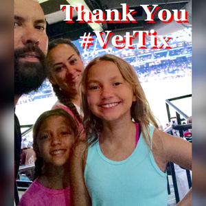 Theresa attended Arizona Diamondbacks vs. Atlanta Braves - MLB on Jul 24th 2017 via VetTix