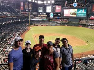Matthew attended Arizona Diamondbacks vs. Atlanta Braves - MLB on Jul 24th 2017 via VetTix