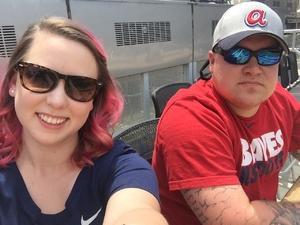 Colby attended Atlanta Braves vs. Miami Marlins - MLB on Jun 17th 2017 via VetTix