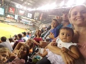 Chad attended Arizona Diamondbacks vs. Houston Astros - MLB on Aug 14th 2017 via VetTix