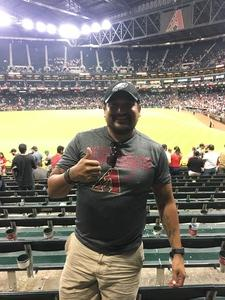 Romeo attended Arizona Diamondbacks vs. Houston Astros - MLB on Aug 14th 2017 via VetTix