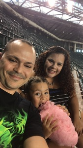 Roberto attended Arizona Diamondbacks vs. Houston Astros - MLB on Aug 14th 2017 via VetTix