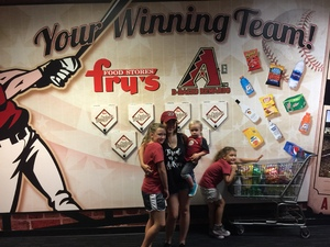 Dbacks lost but we won attended Arizona Diamondbacks vs. Houston Astros - MLB on Aug 14th 2017 via VetTix