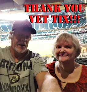 Rob attended Arizona Diamondbacks vs. Houston Astros - MLB on Aug 14th 2017 via VetTix