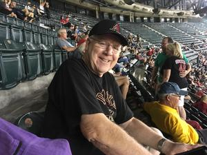 Ernest attended Arizona Diamondbacks vs. Colorado Rockies - MLB on Sep 12th 2017 via VetTix