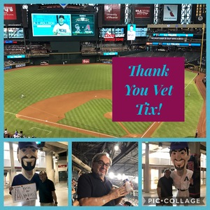 Harry attended Arizona Diamondbacks vs. Colorado Rockies - MLB on Sep 12th 2017 via VetTix