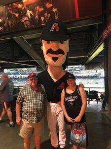 Brian attended Arizona Diamondbacks vs. Colorado Rockies - MLB on Sep 12th 2017 via VetTix