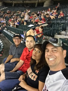 Christian attended Arizona Diamondbacks vs. Colorado Rockies - MLB on Sep 12th 2017 via VetTix