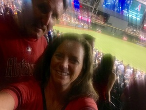 brett attended Arizona Diamondbacks vs. Colorado Rockies - MLB on Sep 12th 2017 via VetTix