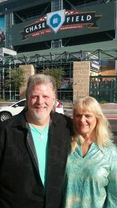 Richard attended Arizona Diamondbacks vs. Colorado Rockies - MLB on Sep 14th 2017 via VetTix