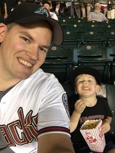 Trevor attended Arizona Diamondbacks vs. Colorado Rockies - MLB on Sep 14th 2017 via VetTix