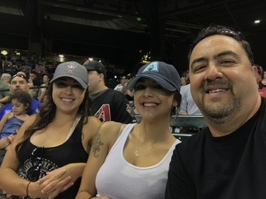Daniel attended Arizona Diamondbacks vs. Colorado Rockies - MLB on Sep 14th 2017 via VetTix