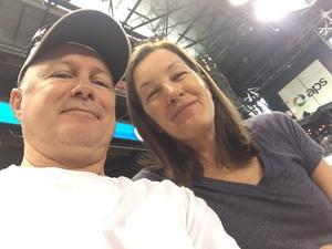 Julia attended Arizona Diamondbacks vs. San Francisco Giants - MLB on Sep 27th 2017 via VetTix