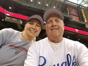 Tiffany attended Arizona Diamondbacks vs. San Francisco Giants - MLB on Sep 27th 2017 via VetTix