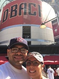 Pete attended Arizona Diamondbacks vs. San Francisco Giants - MLB on Sep 27th 2017 via VetTix