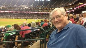 Robert attended Arizona Diamondbacks vs. San Francisco Giants - MLB on Sep 27th 2017 via VetTix
