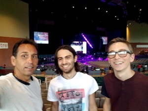 Bert attended Onerepublic Honda Civic Tour on Aug 2nd 2017 via VetTix
