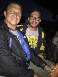 Thomas attended Onerepublic Honda Civic Tour on Aug 2nd 2017 via VetTix