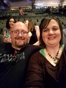 Colin attended Nickelback - Feed the Machine Tour With Special Guest Daughtry and Shaman's Harvest on Jul 21st 2017 via VetTix