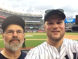 scott attended New York Yankees vs. Texas Rangers - MLB - Premium Seating on Jun 23rd 2017 via VetTix
