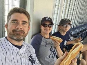 Jeffrey attended New York Yankees vs. Toronto Blue Jays - MLB on Jul 4th 2017 via VetTix