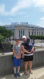 william attended New York Yankees vs. Toronto Blue Jays - MLB on Jul 4th 2017 via VetTix