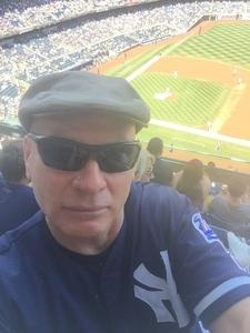 Efrain Garcia attended New York Yankees vs. Toronto Blue Jays - MLB on Jul 4th 2017 via VetTix