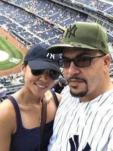 David attended New York Yankees vs. Toronto Blue Jays - MLB on Jul 4th 2017 via VetTix