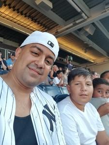 Abraham attended New York Yankees vs. Toronto Blue Jays - MLB on Jul 4th 2017 via VetTix