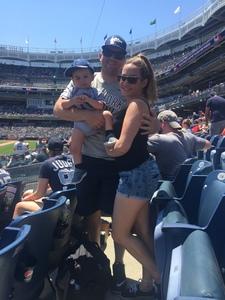 Carlos attended New York Yankees vs. Toronto Blue Jays - MLB on Jul 4th 2017 via VetTix