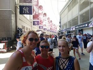 Michele attended New York Yankees vs. Toronto Blue Jays - MLB on Jul 4th 2017 via VetTix