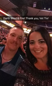Rory attended Earth, Wind and Fire and Chic Ft. Nile Rodgers: 2054 the Tour on Jul 27th 2017 via VetTix