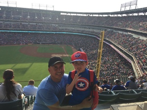 Omar attended Texas Rangers vs. Baltimore Orioles - MLB on Jul 30th 2017 via VetTix