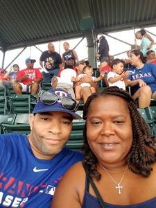 Norman attended Texas Rangers vs. Baltimore Orioles - MLB on Jul 30th 2017 via VetTix