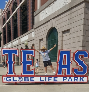 Christina attended Texas Rangers vs. Baltimore Orioles - MLB on Jul 30th 2017 via VetTix