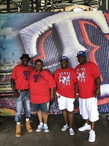 Keith attended Texas Rangers vs. Baltimore Orioles - MLB on Jul 30th 2017 via VetTix