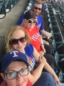 jennifer attended Texas Rangers vs. Baltimore Orioles - MLB on Jul 30th 2017 via VetTix