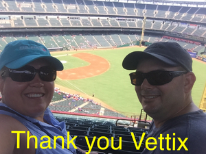 Kenneth attended Texas Rangers vs. Baltimore Orioles - MLB on Jul 30th 2017 via VetTix