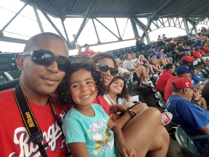 Carlos attended Texas Rangers vs. Baltimore Orioles - MLB on Jul 30th 2017 via VetTix