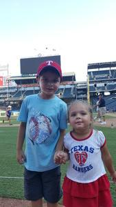 Tony attended Texas Rangers vs. Baltimore Orioles - MLB on Jul 30th 2017 via VetTix