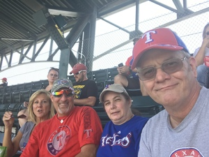 Buddy & Jane Knight attended Texas Rangers vs. Baltimore Orioles - MLB on Jul 30th 2017 via VetTix