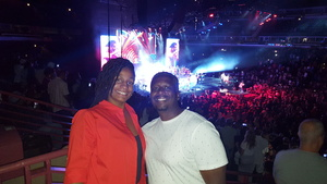 Latesha attended Earth Wind and Fire With Special Guest Chic Feat. Nile Rodgers on Jul 26th 2017 via VetTix