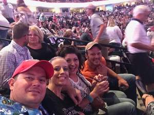 Jeremy attended Brad Paisley With Special Guest Dustin Lynch, Chase Bryant, and Lindsay Ell on Jul 15th 2017 via VetTix