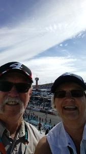 David attended Can-am 500 at Pir - Monster Energy NASCAR Cup Series on Nov 12th 2017 via VetTix