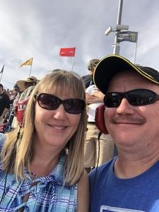 Jim attended Can-am 500 at Pir - Monster Energy NASCAR Cup Series on Nov 12th 2017 via VetTix