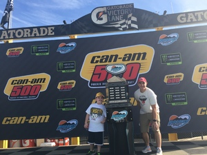 James attended Can-am 500 at Pir - Monster Energy NASCAR Cup Series on Nov 12th 2017 via VetTix