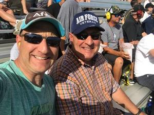 Michael attended Can-am 500 at Pir - Monster Energy NASCAR Cup Series on Nov 12th 2017 via VetTix